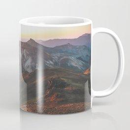 View from Wetterhorn Peak Coffee Mug