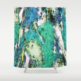 The second rockslide Shower Curtain