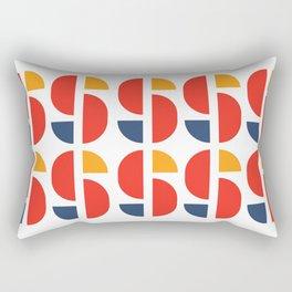 Bauhaus Repetition Joschmi Xants Rectangular Pillow