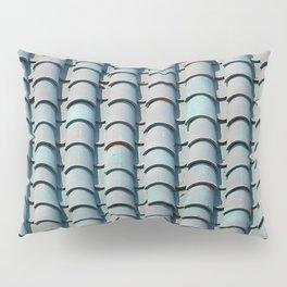 Rooftop Bleu Tiles Pillow Sham