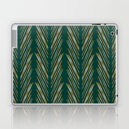 Wheat Grass Teal Laptop & iPad Skin