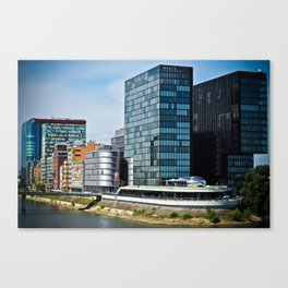 Düsseldorf, Germany Cityscape Canvas Print