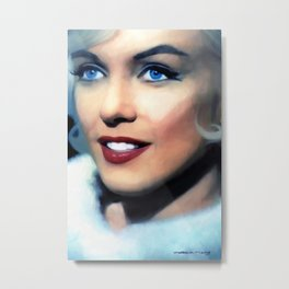 Marilyn M @ Something's Got to Give Metal Print