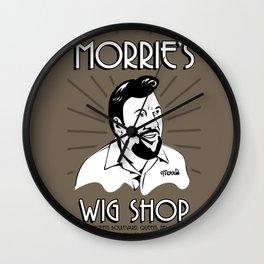 Goodfellas, Morrie's Wigs Shop Sign  Wall Clock