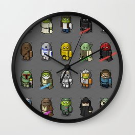 Bugdroid x Star Wars Wall Clock
