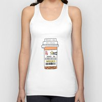 movies Tank Tops featuring Movies are my drug by kate gabrielle