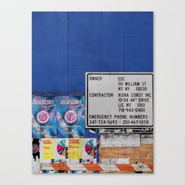 Street Collage I Canvas Print