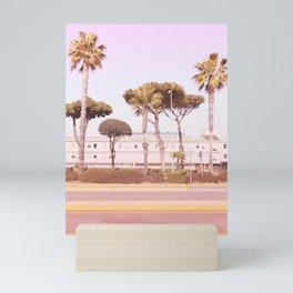 Urban Summer and Palms Mini Art Print