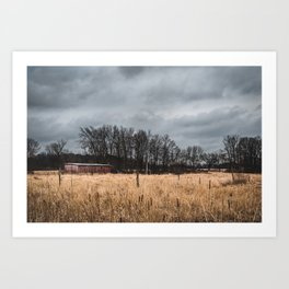 Just a Wisconsin Landscape Art Print