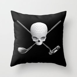 Fairway to Hell Throw Pillow