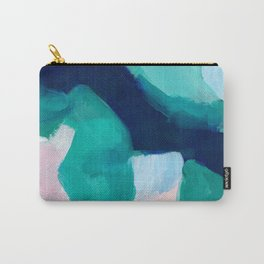 Lakeside abstract Carry-All Pouch