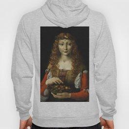 GIRL WITH CHERRIES, by Ambrogio de Predis, 1491_95 Hoody