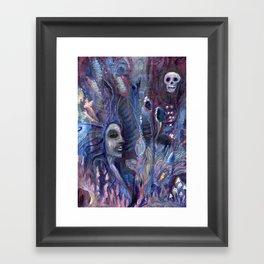 queen of poppies Framed Art Print