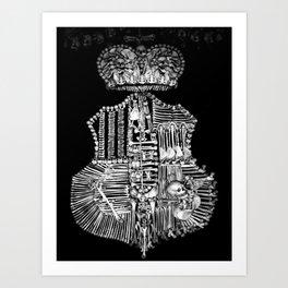 Sedlec V Art Print