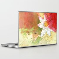 child Laptop & iPad Skins featuring child by Sabine Israel