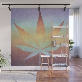 Somewhere over the rainbow, way up high Wall Mural
