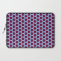 Red & Blue Pattern Laptop Sleeve
