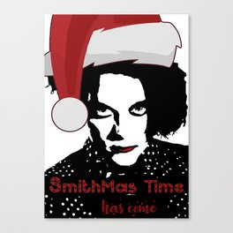 Robert Smith Christmas The Cure Canvas Print