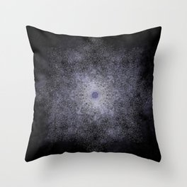 polygon mandala 01 // space Throw Pillow