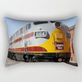 Lackawanna Railroad - Engine 664 Rectangular Pillow