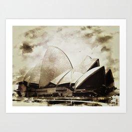 Sydney Opera House  Collection I Art Print
