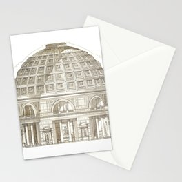 Pantheon Of Rome Stationery Cards