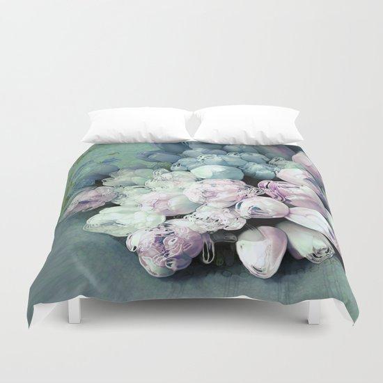 Tulips Antique Duvet Cover