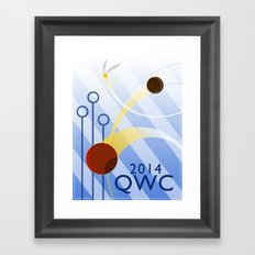 Quidditch World Cup 2014 Framed Art Print