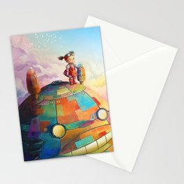 MEI and TOTORO Stationery Cards