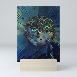 Moon Bug Glow in a Bucket by CheyAnne Sexton Mini Art Print
