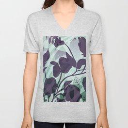 Sassy Sedge - cool colors Unisex V-Neck