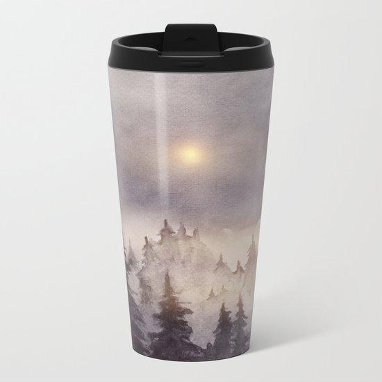 Into The Forest III Metal Travel Mug