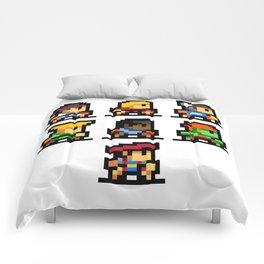 Minimalistic - Street Fighter - Pixel Art Comforters