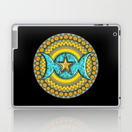 Triple Moon Symbol. Laptop & iPad Skin