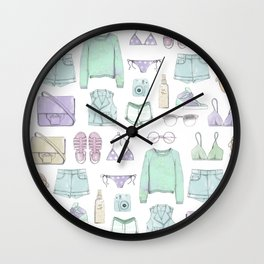 SUMMER ELEMENTS Wall Clock