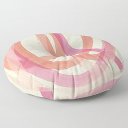 Valentine #1 - Abstract Art Print Floor Pillow