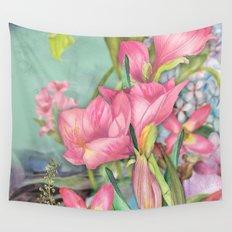 Macro Flower #21 Wall Tapestry