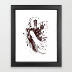 El Monstroca Framed Art Print