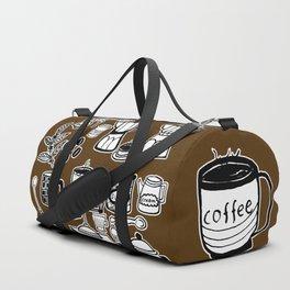 Coffee Doodles Duffle Bag