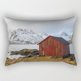 The red shed Rectangular Pillow