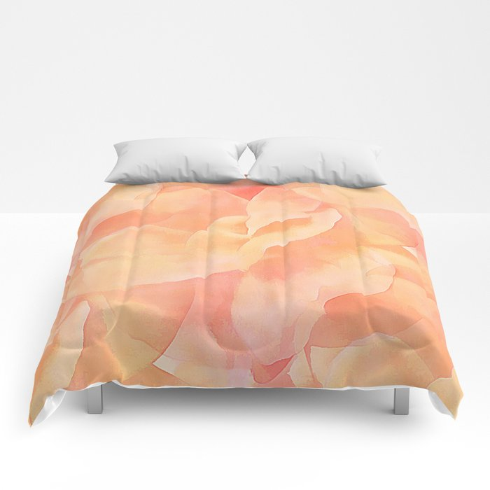 Nothing But Peach Comforters