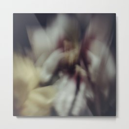 Blured peony Metal Print