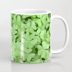 Green Clovers Mug
