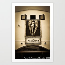 Los Milagros Art Print