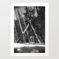Natural Triangle Art Print