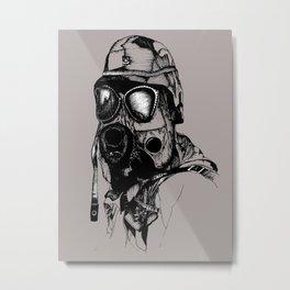 Breather Metal Print