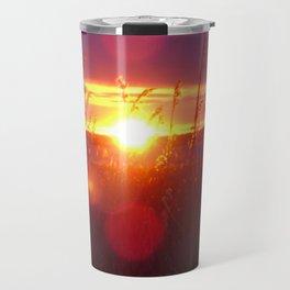 Muriel Lake Sunset 2 Travel Mug