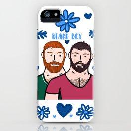 Beard Boy: Couple of Men - Karl & Daan iPhone Case