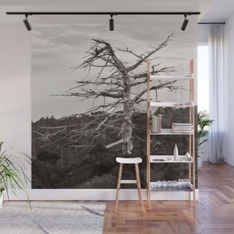 Dead Tree of the Volcano Etna Sicily Wall Mural