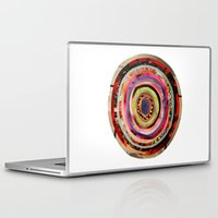 portal Laptop & iPad Skins featuring Portal  by Emily Kenney